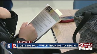 Getting paid while training to teach
