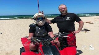 Man severely injured in ATV crash while saving son
