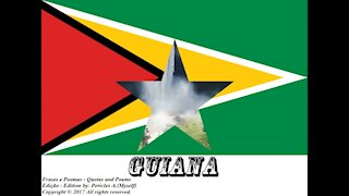 Bandeiras e fotos dos países do mundo: Guiana [Frases e Poemas]