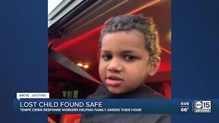 Good Samaritans help rescue child found wandering in the street