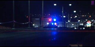 Police investigate crash, body found in Vegas valley