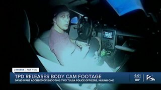TPD releases body cam footage of shooting of two officers
