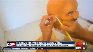Local cake maker goes viral for Steve Harvey cake