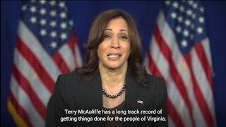 Kamala Pushes For Terry McAuliffe In Virginia Black Churches