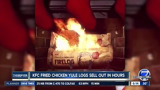 KFC fried chicken yule logs and fried chicken sunscreen for sale