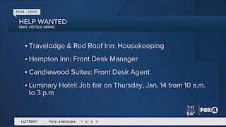 HELP WANTED: Hotels hiring in Southwest Florida