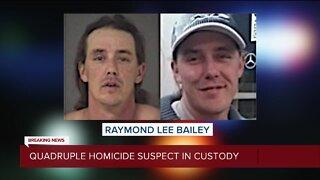 Sumpter Township quadruple homicide suspect turns himself in