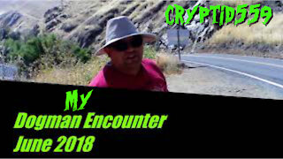 Dogman Encounter In Central Valley, Fresno County CA