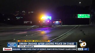 BMW leads San Diego police on high-speed chase