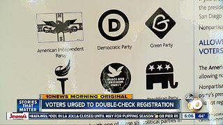 Voters urged to double-check registration for complex Presidential Primary