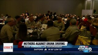 Heroes in southern Arizona honored by Mothers Against Drunk Driving