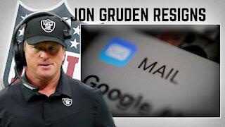 HYPOCRISY? Las Vegas Raiders Head Coach Jon Gruden Resigns   Steve Deace Show