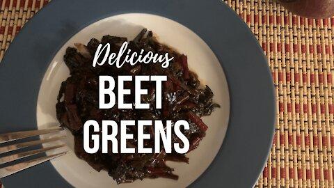 Delicious Beet Greens