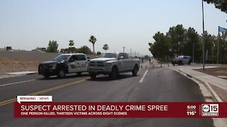 Suspect arrested after deadly West Valley crime spree