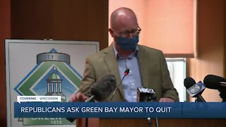 Republican lawmakers ask Green Bay mayor to resign