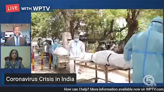 South Florida doctor raises awareness about coronavirus crisis in India