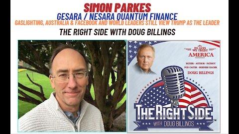 Interveiw with Simon Parkes: February 18 2021