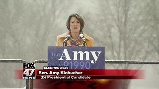 Minnesota Sen. Amy Klobuchar enters presidential race