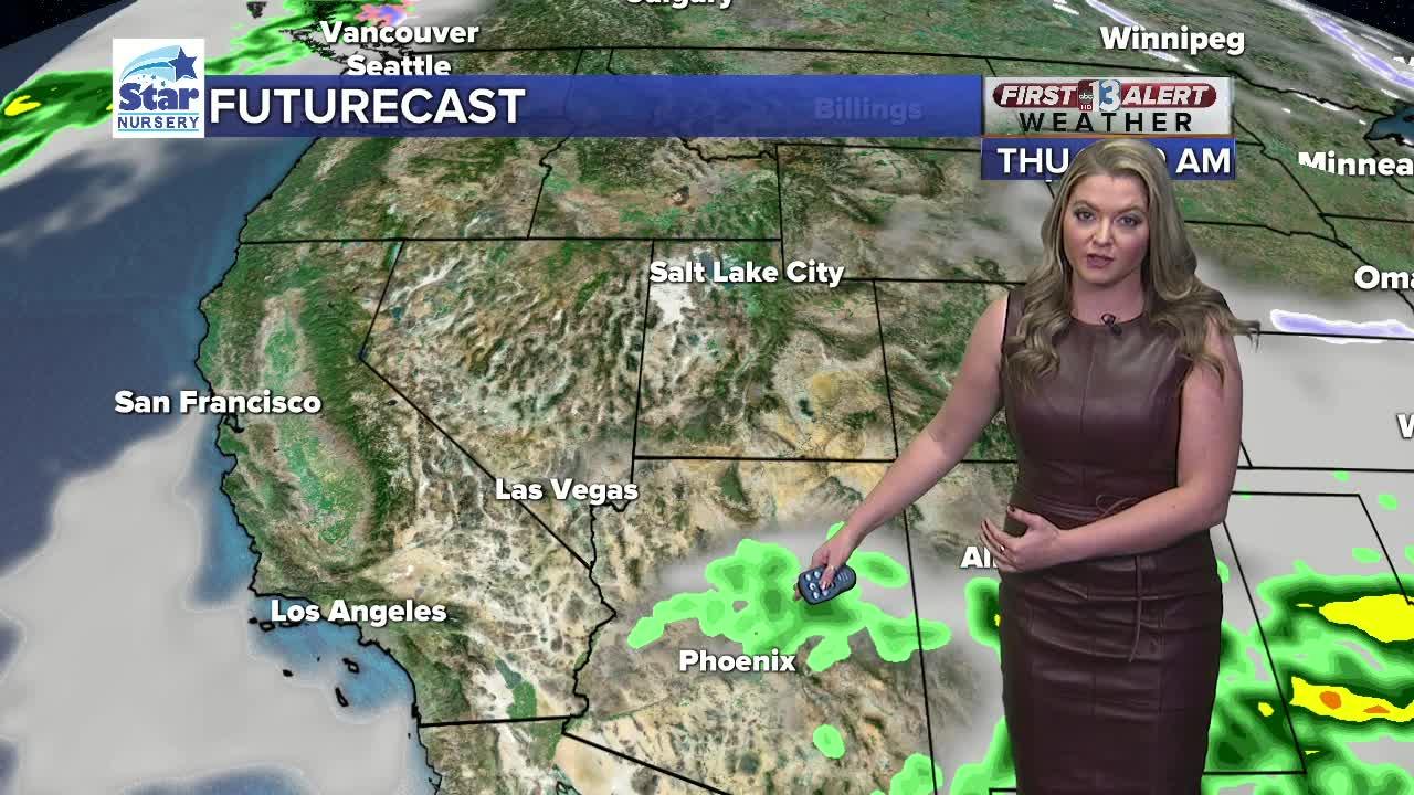 13 First Alert Las Vegas evening forecast | Nov. 4, 2019