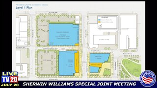 City expresses concerns over Sherwin-Williams HQ proposal