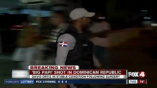 'Big Papi' shot in the Dominican Republic