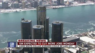 General Motors expected to cut more white-collar workers on Monday