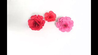 How To Make an Easy Origami Rose Flower