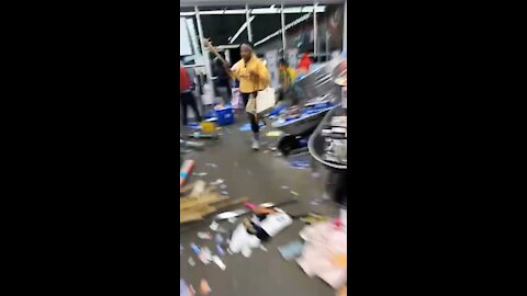 SHOCKING Footage Shows Rioters Looting, Complete Destruction at Stores in Minneapolis