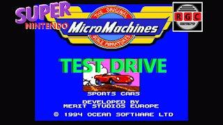 Micro Machines - Test Drive