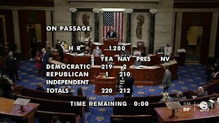 House Democrats pass election reform and police reform bills last night