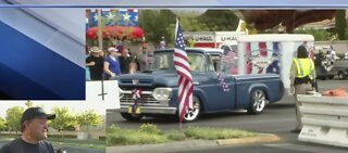 Before the 4th of July parade in Summerlin