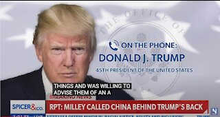 Former President Trump: If the Milley story is true, IT'S TREASON