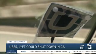 Uber, Lyft could shut down in California over AB-5