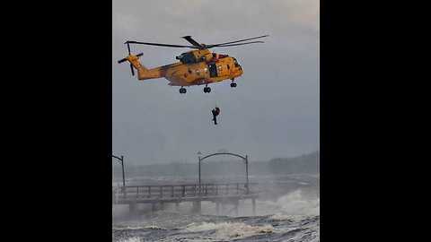 Horrific storm destroys 100 year old landmark pier