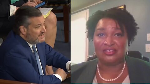 Ted Cruz DESTROYS Stacey Abrams for Lying About the GA Election