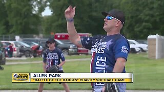 'Battle of the Badges' charity softball game