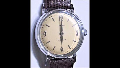 Review of the 1958 Timex Marlin Men's Watch