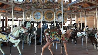 What's going on with the Buffalo Heritage Carousel at Canalside?