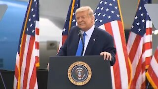 President Donald Trump Admits He Is The 2nd Most Famous Man In The World...