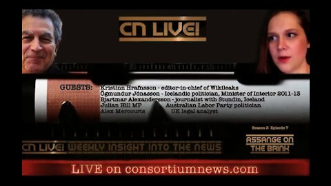 The Latest Update On Julian Assange's Court Case w/ Consortium News