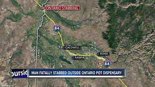 Ontario man killed in stabbing outside marijuana dispensary