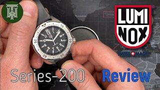 Luminox Series-200 Diver Watch - Review (3HMBM / Ronda 715)
