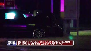 Off-duty Detroit police officer killed in crash on Woodward Avenue