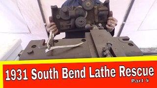 South Bend Lathe Restoration Part 4