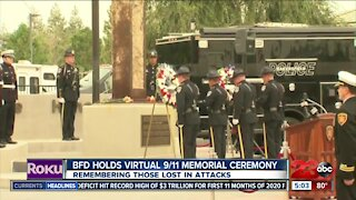 Bakersfield Fire Department holds annual 9/11 memorial ceremony