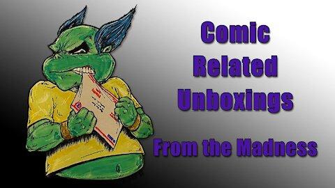 Comic Related Unboxing w/T3 Studios Tom Rapka