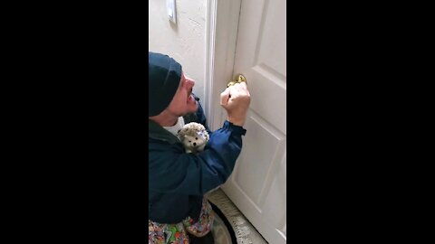 Why Did You Lock The Door?