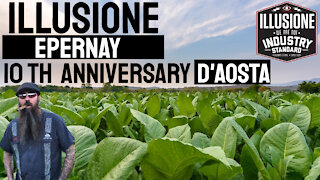 Illusione Epernay 10th Anniversary D'Aosta Cigar Review 2021 | Cigar Prop