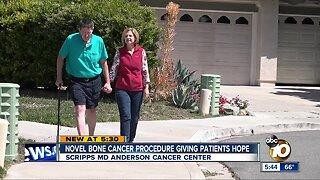 Novel bone cancer procedure giving patients hope