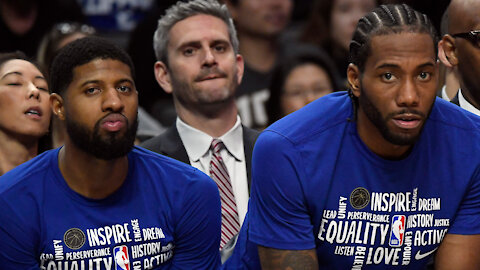 Kawhi Leonard & Paul George Officially Out Of Excuses As To Why The Clippers Can't Win The West
